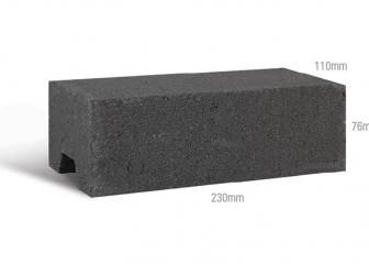 Architectural Brick black image